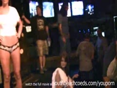 see through wet tshirt contest real amateurs clubbing club life bar contest Thumb