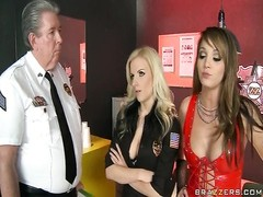 Prostitute Trains cool Cop Thumb