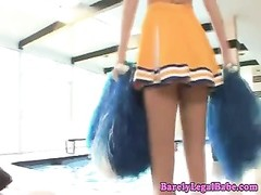 Kiara Diane cheerleader gets a creampie Thumb