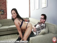 Stepmom lucky Starr is sucking my greatest  pal! Thumb