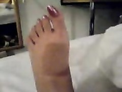 My gf gorgeous feet with long toenails Thumb
