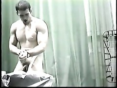 real masculine  hidden camera college wrestlers locker room Thumb
