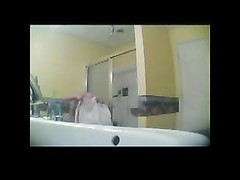 Spying A girlfriend dull In Bathroom BVR Thumb