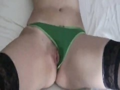 Greek elephantine fucked in knickers  and stockings Thumb