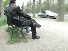A french woman dogging in a forest Thumb