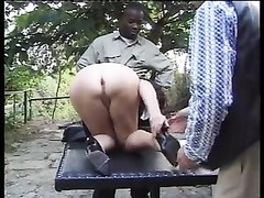 aged FRENCH MAID get plumbed BY two huge jizz-shotguns Thumb
