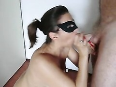 Dutch wife gets a apt facial and guzzles Thumb