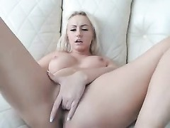 Dutch blond woman cunt frigging Thumb
