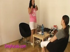 Facial jizz shot for buxomy czech amateur Thumb