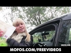 Public Pickups - hot Czech model is paid for car sex Thumb