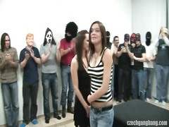 huge-titted dame AT CZECH GANG bang PARTY Thumb