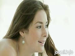 Freckle Faced young Czech female Creampied While banging Boyfr Thumb