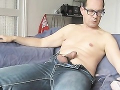 Estim and jerk off while eyeing  Czech bb-porn Thumb