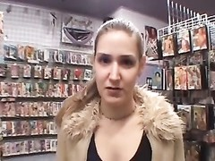 fledgling  girl banged in Adult Bookstore Thumb