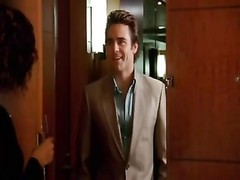 Satisfaction- spectacular Dustin Clare gets oral job from cougar mummy ! Thumb