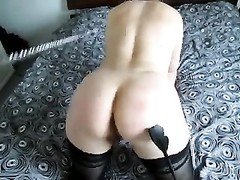 leashed amateur sub  wifey  being punished Thumb