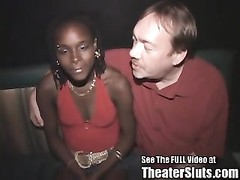 teenage  black  hoe Livin Out Her Porn dream In A Porn Theater Thumb