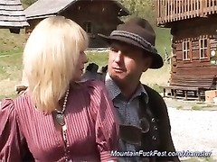 German moms ass fucking in the mountains Thumb