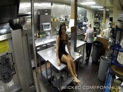 wicked - Gianna Nicole smashes her boss in the kitchen Thumb