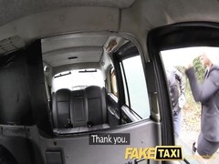 FakeTaxi Swingers lovers receive it on in serve of taxi Thumb