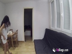 spanish brunette looking a special apartament playmate (hidden cam) Thumb