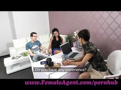 FemaleAgent. boy becomes a third wheel in casting Thumb