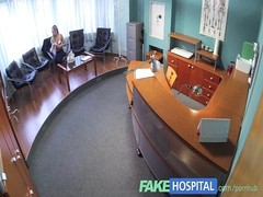 FakeHospital insane  fantastic blondy patient elevates  the temperature Thumb