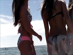 College candid Beach arse booty West Michigan arse A+ Thumb
