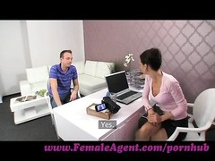 FemaleAgent. milf seduces hesitant guy Thumb