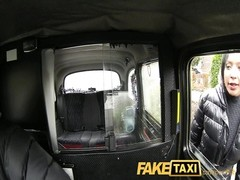 FakeTaxi donk munching chick earns additional Christmas cash Thumb