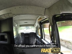 FakeTaxi blowing pecker to lope to the helpful Thumb