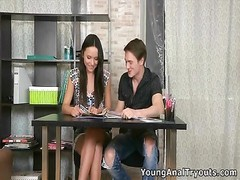 youthfull  anal invasion Tryouts - Jenna and attractive hook-up  with a man Thumb