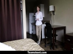 CFNMTeens - Ginger teenage  Gets penetrated At toil Thumb