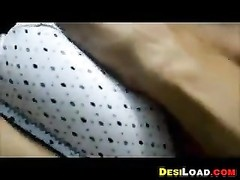 Indian Housewife jacking Thumb