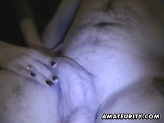 fledgling  girlfriend homemade blowjob with jizz in mouth Thumb
