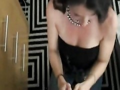 fellatio while cuckold spouse  is locked and at home Thumb