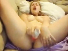 damsel Surprises Herself with rate squirt Thumb
