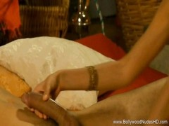 oral job Indian mummy  Brunette man Thumb