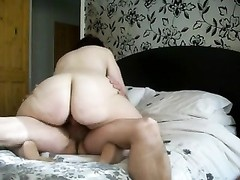BBW grandma riding Thumb