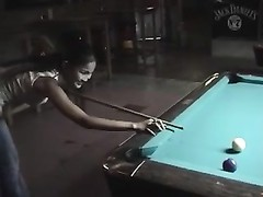 remarkable  oriental pool player Thumb