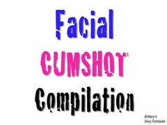 Facial cumshot Compilation With Brittany Thumb