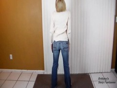 CFNM POV blowjob and spunk  swallow for Her modern Sweater Thumb