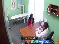 FakeHospital sultry  redheads taut  cunny causes creampie from doctor Thumb