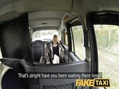 FakeTaxi skinny blondy swaps pride for a slouch Thumb