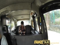 FakeTaxi buxomy brunette enjoys Scottish manstick Thumb