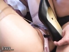 Uncensored Japanese Erotic Fetish hook-up - stockings Play (Pt. 4) Thumb