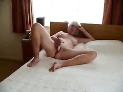 Stolen video of my horny ancient mum with daddy Thumb