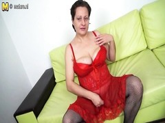 crazy housewife pleasing herself Thumb