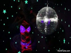 Romi Rain Disco Ball masturbation Thumb