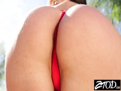 Kendra fervor  has a perfect booty observe her nail Thumb